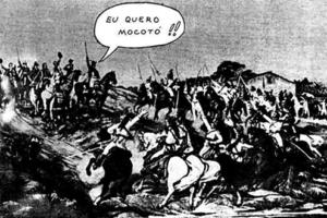 Image 1 – Independência ou Morte? Mocotó! / Jaguar's Cartoon.